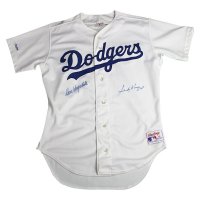 Sandy Koufax & Don Drysdale Signed Dodgers Jersey (Beckett COA)
