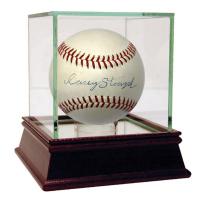 Casey Stengel Signed OAL Baseball (JSA Hologram)