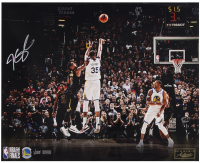 """Kevin Durant Signed Golden State Warriors """"Clutch"""" 16x20 Limited Edition Photo (Panini COA) at PristineAuction.com"""