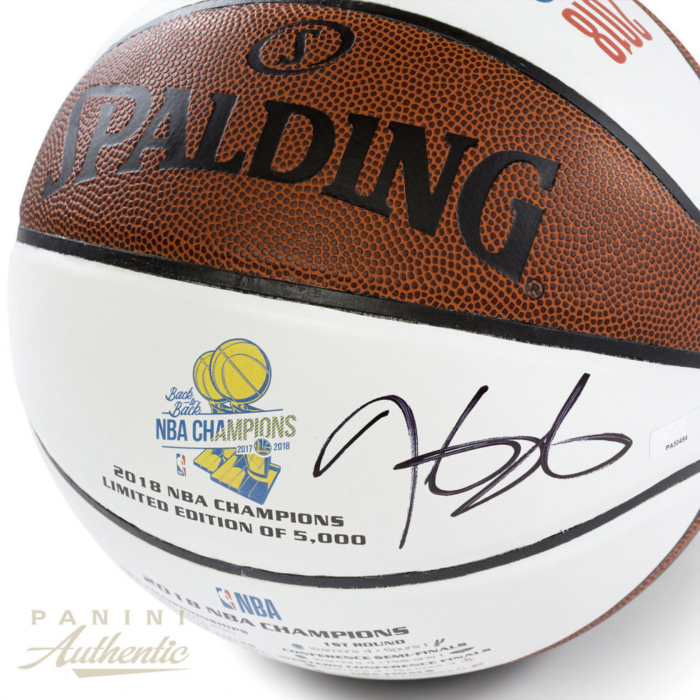 00b565c5706e Kevin Durant Signed Golden State Warriors LE 2018 NBA