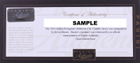 """Kevin Durant Signed Golden State Warriors LE 2018 NBA """"Back to Back"""" Finals Champions White Panel Basketball (Panini COA) at PristineAuction.com"""