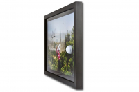 "Tiger Woods Signed LE ""British Open 10th Tee"" 15x23 Custom Framed Photo Display with Golf Ball Breakthrough (UDA COA) at PristineAuction.com"