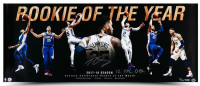 """Ben Simmons Signed Philadelphia 76ers """"Rookie Of The Year"""" 15x36 Photo Inscribed """"12 Tpl Dbl""""  (UDA COA) at PristineAuction.com"""