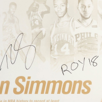 """Ben Simmons Signed Philadelphia 76ers """"NBA Royalty"""" 20x24 Photo Inscribed """"ROY 18"""" (UDA COA) at PristineAuction.com"""