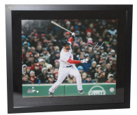 "J.D. Martinez Signed Red Sox ""Grand Slam"" 20x24 Custom Framed Photo (Steiner COA) at PristineAuction.com"