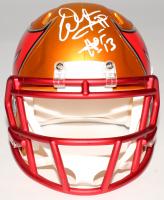 """Warren Sapp Signed Buccaneers Mini Blaze Speed Helmet Inscribed """"HOF 13"""" (JSA COA) at PristineAuction.com"""