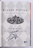 """Daniel Radcliffe Signed """"Harry Potter and the Sorcerer's Stone"""" Hardcover Book (Beckett COA)"""