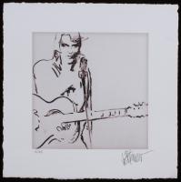 "Joe Petruccio Signed Elvis Presley ""Unfinished Symphony"" Limited Edition 9x9 Fine Art Giclee on Paper #13/25 (Pristine Auction LOA & Joe Petruccio COA)"