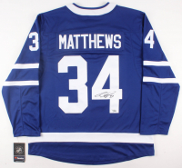 Auston Matthews Signed Maple Leafs Jersey (Fanatics Hologram) at PristineAuction.com