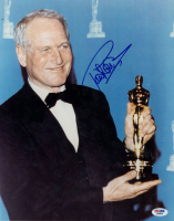 Paul Newman Signed Academy Award 11x14 Photo (PSA Hologram) at PristineAuction.com