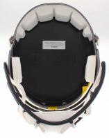 "Charles Woodson & Desmond Howard Signed Michigan Wolverines Full-Size Speed Helmet Inscribed ""Heisman '97"" & ""'91 Heisman"" (Radtke COA, Woodson Hologram & Howard Hologram) at PristineAuction.com"