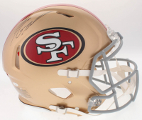 Jimmy Garoppolo Signed 49ers Full-Size On-Field Speed Helmet (Radtke COA) at PristineAuction.com