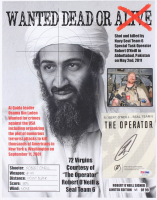 "Robert O'Neill Signed LE ""Bin Laden Wanted Dead or Alive"" 11x14 Photo (PSA COA) at PristineAuction.com"