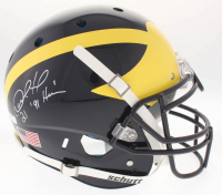 "Desmond Howard Signed Michigan Wolverines Full-Size On-Field Helmet Inscribed ""Heisman 91"" (Radtke COA & GTSM Hologram)"