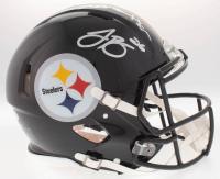 Le'Veon Bell & Antonio Brown Signed Steelers Full-Size On-Field Helmet (JSA COA)