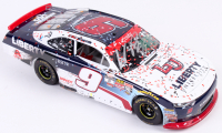 William Byron Signed 2017 NASCAR #9 Liberty University - Phoenix Win - Raced Version - 1:24 Premium Action Diecast Car (JR Motorsports Hologram & Action COA) at PristineAuction.com