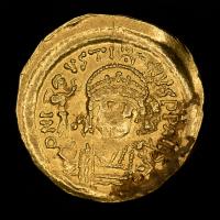 Justin I AD 518-527 Byzantine Empire AV (Gold) Solidus
