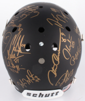 Custom Matte Black Full-Size Helmet Signed by (24) With Bo Jackson, Archie Griffin, Charlie Ward, Mark Ingram (Steiner LOA & COA) at PristineAuction.com