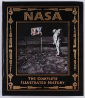 "Buzz Aldrin Signed ""NASA: The Complete Illustrated History"" Hardback Book (Easton Press COA)"