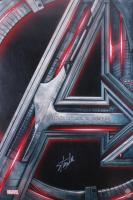 "Stan Lee Signed ""Avengers: Age of Ultron"" 27x40 Movie Poster (Radtke COA & Lee Hologram)"