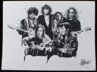 """Joe Petruccio Signed """"Heaven Rocks""""  Limited Edition 14x20.5 Fine Art Giclee on Paper #15/500 (PA LOA & Petruccio COA)"""