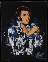 "Joe Petruccio Signed  Elvis Presley ""Flower Power""  Limited Edition 11x14 Prototype Giclee on Paper (PA LOA & Petruccio COA)"