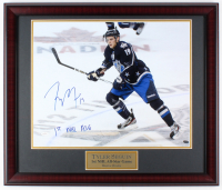 "Tyler Seguin Signed Bruins 27x23 Custom Framed Photo Display Inscribed ""1st NHL ASG"" (JSA COA)"