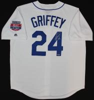 """Ken Griffey Jr. Signed Mariners Jersey Inscribed """"HOF 16"""" (TriStar Hologram)"""