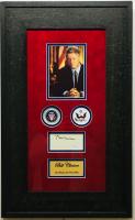 Bill Clinton Signed 14x24 Custom Framed Cut Display (JSA COA)