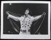 """The Hulton Archive - Elvis Presley """"The King of  New York"""" 17x22 Limited Edition Fine Art Giclee on Paper #2/275 (Pristine Auction LOA & Hulton