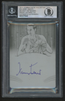 Jerry West Signed 2013-14 Timeless Treasures Treasured Ink Black #24 Basketball Card Ink Plate (BGS Encapsulated)