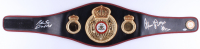 "Roberto Duran & Thomas ""Hitman"" Hearns Signed Full-Size WBA Heavyweight Championship Belt (Beckett COA)"