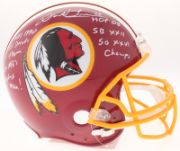 Darrell Green Signed Redskins Full-Size Authentic On-Field Helmet with (5) Inscriptions (JSA COA) at PristineAuction.com