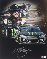 Kurt Busch Signed 2018 NASCAR Monster Energy #41 11x14 Photo (PA COA)