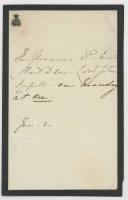 Queen Victoria Hand-Written Letter (JSA LOA) at PristineAuction.com