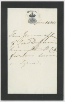 Queen Victoria Signed Hand-Written Letter (JSA LOA) at PristineAuction.com