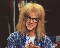 """Dana Carvey Signed """"Wayne's World"""" 8x10 Photo (Beckett COA)"""