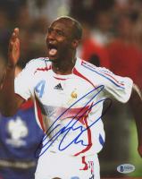 Patrick Vieira Signed France National Team 8x10 Photo (Beckett COA)