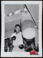 "Muhammad Ali ""To Be a Champion You Must Train Like a Champion"" 11.75x16 MirrorPix Fine Art Giclee #21/275 (Pristine Auction LOA)"