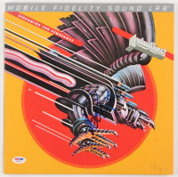"""Hozier Signed LE """"Screaming for Vengeance"""" Vinyl Album Cover (PSA COA)"""