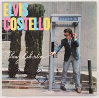 "Elvis Costello Signed ""Taking Liberties"" Vinyl Album Cover (Beckett COA)"