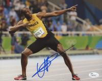 Usain Bolt Signed 8x10 Photo (JSA COA)