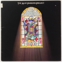 """Alan Parsons Signed """"The Turn Of A Friendly Card"""" Vinyl Album Cover (Beckett COA)"""
