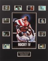 """Rocky IV"" Limited Edition Original Film/Movie Cell Display"