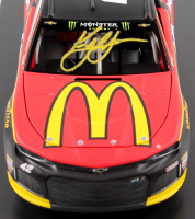 Kyle Larson Signed NASCAR #42 McDonald's 2018 Camaro - 1:24 Premium Action Diecast Car (PA COA) at PristineAuction.com