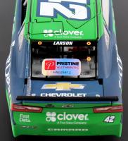 Kyle Larson Signed NASCAR #42 Clover / First Data 2018 Camaro - 1:24 Premium Action Diecast Car (PA COA) at PristineAuction.com
