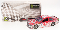 Kyle Larson Signed NASCAR #42 2017 Target Michigan Fall Win - 1:24 Premium Action Diecast Car (PA COA)