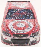 Kyle Larson Signed NASCAR #42 2017 Target Michigan Fall Win - 1:24 Premium Action Diecast Car (PA COA) at PristineAuction.com