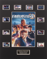 """""""Fantastic Four"""" Limited Edition Original Film/Movie Cell Display"""