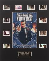 """James Bond - Diamonds Are Forever"" Limited Edition Original Film/Movie Cell Display"